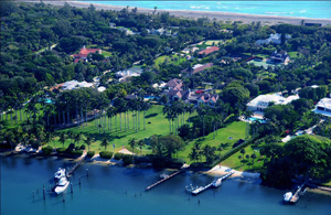 Jupiter Island, FL, one of the most exclusive communities in the USA. Home to Tiger Woods, Celine Dion, Alan Jackson, and other celebrities and titans of industry, Linda Bruins, the real estate professional, will help you fit right in.
